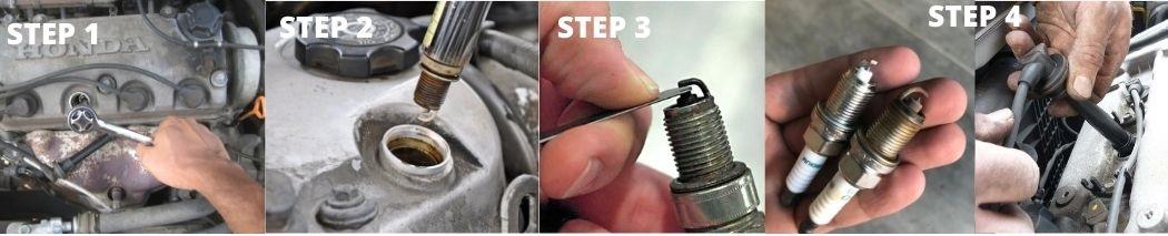 Reinstalling the Clean Spark Plug